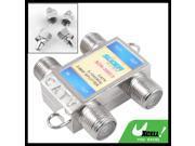 5-1000MHz RF Signal TV CATV 3 Way Splitter Distributor