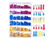 720 Pcs Assorted Insulated Electrical Wire Terminals Crimp Connentors Spade Set