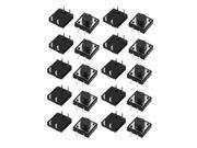 20Pcs 12mmx12mmx6mm PCB Momentary Tactile Tact Push Button Switch 4 Pin DIP