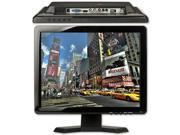 "15"" 4:3 /16:9 HDMI/BNC/AV/VGA Input CCTV TFT LCD Monitor Computer Display Screen"