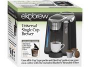 Ekobrew Universal K-Cup Brewer for Keurig 2.0 and 1.0 K-cups 9SIAD245A00984