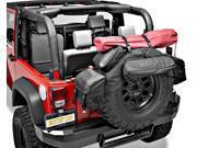 "Bestop 54135-35 RoughRider Spare Tire Organizer Fits 38"" to 40"" tire Black"