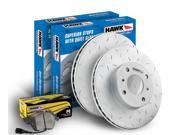 Hawk Performance HKZ421601 Performance Ceramic Brake Kits 08-13 370Z FX50 G37