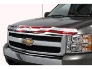 Stampede 2153-30 Vigilante Premium Hood Protector American Flag With Eagle Ford