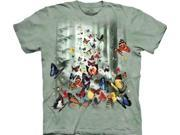 The Mountain Butterflies Tee Tshirt Adult