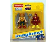 Imaginext DC Super Friends Mini Figure 2Pack Hawkman The Flash 9SIV16A6776604