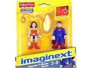 Imaginext DC Super Friends Superman and Wonder Woman