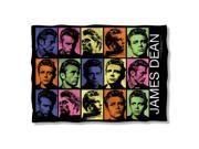 James Dean Color Block Poly 20X28 Pillow Case White One Size 9SIA00Y2371199
