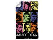 James Dean Color Block Poly 36X60 Blanket White One Size 9SIA00Y2371347