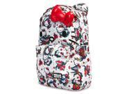 Loungefly Hello Kitty Tattoo Print Face Backpack