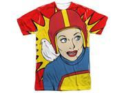 I Love Lucy Super Lucy (Front Back Print) Mens Sublimation Shirt 9SIA29236M3708