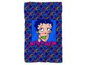Betty Boop Pop Betty Poly 36X60 Blanket White One Size 9SIA00Y5TP4377