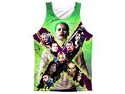 Suicide Squad Taskforce X (Front Back Print) Mens Tank Top Sublimation Shirt