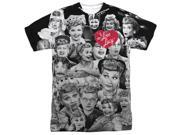 I Love Lucy Faces Mens Sublimation Shirt 9SIA29237G2478