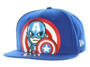 Tokidoki Marvel The Captain New Era 9Fifty Men's Blue Snapback Hat 9SIA2925245530