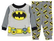 DC Comics Batman Baby Boys' Toddler I Am Batman 2 Piece Pajama Set 9SIA2925CB1311