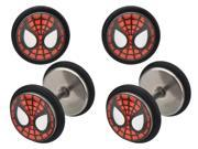 Marvel Comics Spider-Man 316L Surgical Steel Faux Plugs 18g 9SIA2921SK7020