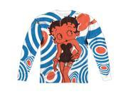 Betty Boop Mod Rings (Front Back Print) ( Print) Mens Long Sleeve Sublimation Shirt 9SIA00Y5TN5356