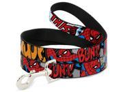 MARVEL COMICS Dog Leash - Spider-Man w Action Verbiage 9SIA2926614087