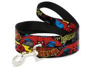MARVEL COMICS Dog Leash - Spider-Man in Action w AMAZING SPIDER-MAN 9SIA2926545978