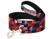 ULTIMATE SPIDER-MAN Dog Leash - THE ULTIMATE SPIDER-MAN Swinging City Poses 9SIA2926546510