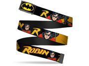 Batman Fcg Black Yellow Chrome Robin Red Black Poses Black Webbing Web Web Belt 9SIA29265H2604