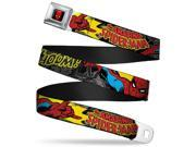 Marvel Comics Spider Man Full Color Spider Man In Action W Amazing Spider Seatbelt Belt 9SIA29265H6937