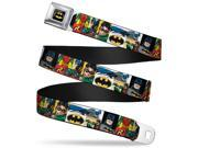 Batman Fcg Black Yellow Chrome Batman & Robin Action Panels Webbing Web Belt 9SIA29265H7831