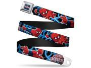 Ultimate Spider Man ultimate Spider Man Web Full Color The Ultimate Spider Seatbelt Belt 9SIA29265H3907