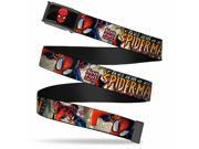 Marvel Universe Spider Man Face Fcg Bo Black The Amazing Spider Man Web Belt 9SIA2926614153