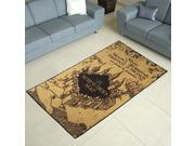 Harry Potter Marauders Map Area Rug