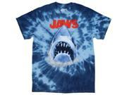 Jaws Great White Shark American Thriller Tie Dye Men's T-Shirt 9SIA2926YW3966
