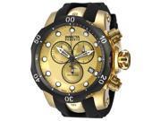 Invicta Men's 16150 Venom Quartz Chronograph Gold Dial Watch