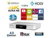 ZIDOO X9 MSTAR Quad Core Android Smart TV Box HDMI-in Video Recorder XBMC KODI 2G/8G 4K H.265 Media Player Dolby DTS w/ USB3.0 Dual Band WiFi Bluetooth PVR PIP