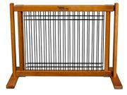 Wood and Wire Pet Gate - Large/Artisan Bronze - 42603