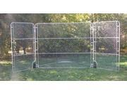 Portable Backstop with Side Panels - BS024M