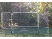 Portable Backstop with Top & Side Panels - BS025M