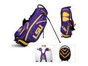 Lsu Tigers Ncaa Stand Bag - 14 Way Fairway