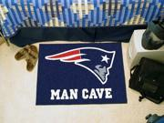 "NFL - New England Patriots Man Cave Starter Rug 19""x30"""