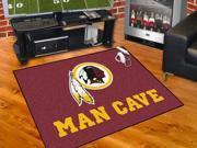 "NFL - Washington Redskins Man Cave All-Star Mat 34""x45"""