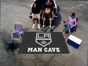Fanmats NHL - Los Angeles Kings Man Cave UltiMat Rug 5'x8'