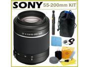 Sony DSLR Alpha SAL-552002 55-200 Telephoto Zoom Lens + Accessory Kit