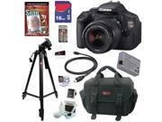 Canon T3i: EOS Rebel T3i 12.2MP DSLR Camera 18-55MM IS II Lens 16GB + Best DSLR Camera Kit
