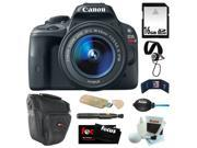 Canon sl1 Canon EOS Rebel SL1 18MP Digital SLR with 18-55mm EF-S IS STM Lens and 3-inch Touch Screen + 16GB SDHC + Card Reader + Zoom Lens Camera Case + Accesso