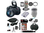 Canon T5i EOS Rebel T5i with EF-S 18 135mm IS STM Bundle + Replacement Battery for LP-E8 + 32GB SD Best DSLR Camera Kit