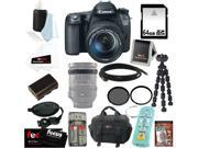 CANON 70D: Canon 70d EOS 70D SLR CMOS 20.2MP Digital Camera EFS 18-135mm Lens + 32GB Memory Card + Tiffen 67mm UV Protector & Circular Polarizing Lens Filter + ACCESSORY KIT