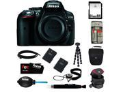 Nikon D5300 24.2 MP CMOS Digital SLR Camera + 64GB SD HC Memory Card + (2) Rechargeable Lithium-Ion Replacement Batteries + Focus Universal Memory Card Reader +