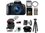 Canon t5i EOS Rebel T5i 18.0 MP DSLR with EF-S 18-55mm f/3.5-5.6 IS STM Zoom Lens + 32GB Best DSLR Camera Kit