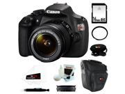 Canon t5 EOS Rebel T5 DSLR Camera with EF-S 18-55mm IS II Lens + 16GB SD HC Memory Card + Accessory Kit