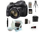Sony Cyber-shot DSC-H400/B DSCH400 H400 Digital Camera + Sony 16GB SDHC/SDXC Memory Card + Small Gadget Camera Bag + Accessory Kit